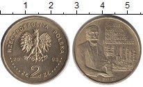 Изображение Мелочь Польша 2 злотых 2003 Латунь XF