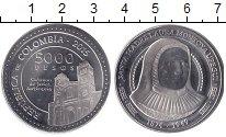 Изображение Монеты Колумбия 5000 песо 2015 Медно-никель UNC