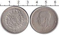 Изображение Монеты Швеция 2 кроны 1943 Серебро UNC-