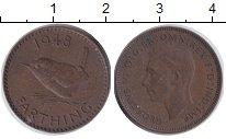 Изображение Монеты Великобритания 1 фартинг 1948 Бронза XF