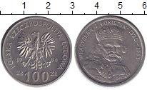 Изображение Монеты Польша 100 злотых 1986 Медно-никель UNC- Владислав I