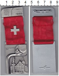 Изображение Монеты Швейцария Стрелковый фестиваль 1988 Медно-никель UNC