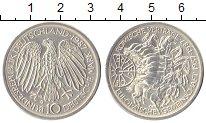 Изображение Монеты ФРГ 10 марок 1987 Серебро UNC- 30 - летие  Римского