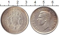 Изображение Монеты ЮАР 2 1/2 шиллинга 1942 Медно-никель