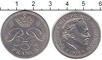 Изображение Монеты Монако 5 франков 1974 Медно-никель XF