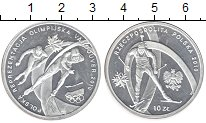 Изображение Монеты Польша 10 злотых 2010 Серебро UNC-
