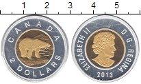 Изображение Монеты Канада 2 доллара 2013 Серебро Proof-
