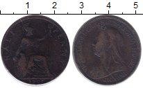 Изображение Монеты Великобритания 1/2 пенни 1901 Бронза VF