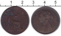 Изображение Монеты Великобритания 1/2 пенни 1893 Бронза VF
