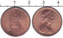 Изображение Монеты Великобритания 1 пенни 1971 Бронза UNC-