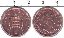 Изображение Монеты Великобритания 1 пенни 2005 Бронза UNC-