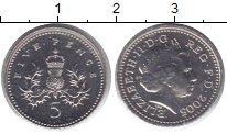 Изображение Монеты Великобритания 5 пенсов 2005 Медно-никель UNC-