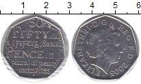 Изображение Монеты Великобритания 50 пенсов 2005 Медно-никель UNC-