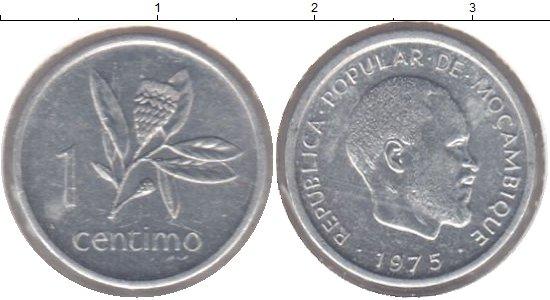 Картинка Монеты Мозамбик 1 сентим Алюминий 1975