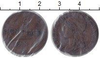 Изображение Монеты Франция 5 сантим 1795 Бронза XF-