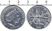Изображение Монеты Великобритания 1 фунт 2011 Серебро UNC-
