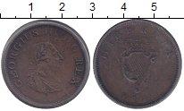 Изображение Монеты Ирландия 1/2 пенни 1805 Медь VF