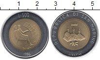 Изображение Монеты Сан-Марино 500 лир 1986 Биметалл XF