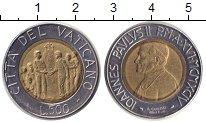 Изображение Монеты Ватикан 500 лир 1994 Биметалл XF