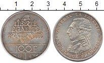 Изображение Монеты Франция 100 франков 1987 Серебро XF
