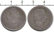 Изображение Монеты Австрия 1/4 флорина 1859 Серебро VF
