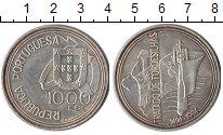 Изображение Монеты Португалия 1000 эскудо 1994 Серебро XF