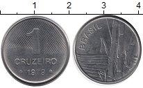 Изображение Дешевые монеты Бразилия 10 крузейро 1979 Железо XF