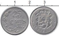 Изображение Дешевые монеты Люксембург 25 сантим 1954 Алюминий XF