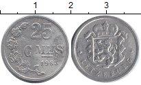 Изображение Дешевые монеты Люксембург 25 сантим 1963 Алюминий XF-
