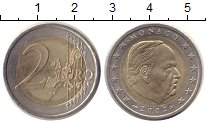 Изображение Монеты Монако 2 евро 2002 Биметалл XF
