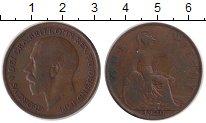 Изображение Монеты Великобритания 1 пенни 1920 Медь XF