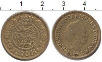 Изображение Монеты Дания 10 крон 1989 Медь XF Королева Маргрет II.