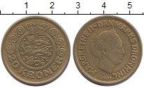 Изображение Монеты Дания 20 крон 1990 Медь XF