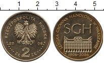 Изображение Монеты Польша 2 злотых 2006 Медь UNC 100 - летие Варшавск