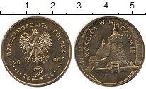 Изображение Монеты Польша 2 злотых 2006 Медь UNC Церковь в Хачуве.