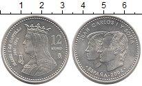 Изображение Монеты Испания 12 евро 2004 Серебро Proof