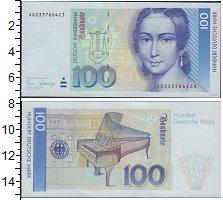 Изображение Банкноты ФРГ 100 марок 0  XF