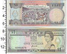 Изображение Боны Фиджи 1 доллар 0  XF