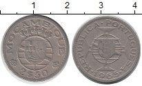 Изображение Монеты Мозамбик 2 1/2 эскудо 1965 Медно-никель XF Протекторат Португал