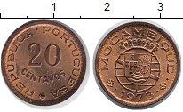 Изображение Монеты Мозамбик 20 сентаво 1973 Медь XF