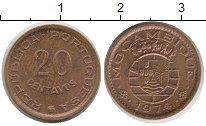 Изображение Монеты Мозамбик 20 сентаво 1974 Медь XF