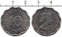 Изображение Монеты Маврикий 10 центов 1978 Медно-никель UNC