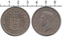 Изображение Монеты Новая Зеландия 1/2 кроны 1951 Медно-никель XF