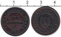 Изображение Монеты Великобритания 1 фартинг 1813 Медь XF Токен. Джон Нэпп Юни