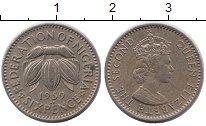 Изображение Монеты Нигерия 6 пенсов 1959 Медно-никель XF