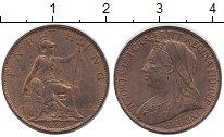 Изображение Монеты Великобритания 1 фартинг 1895 Медь XF