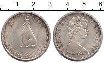 Изображение Монеты Канада 50 центов 1967 Серебро XF