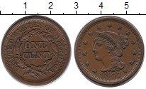 Изображение Монеты США 1 цент 1847 Медь XF