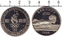 Изображение Монеты США 1/2 доллара 1996 Серебро Proof