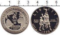 Изображение Монеты США 1/2 доллара 1995 Серебро Proof